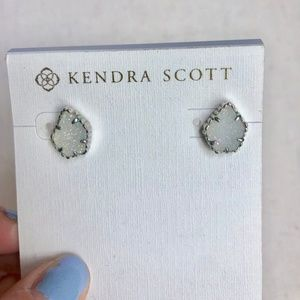 Kendra Sctott Tessa Drusy Iridescent Stud Earrings